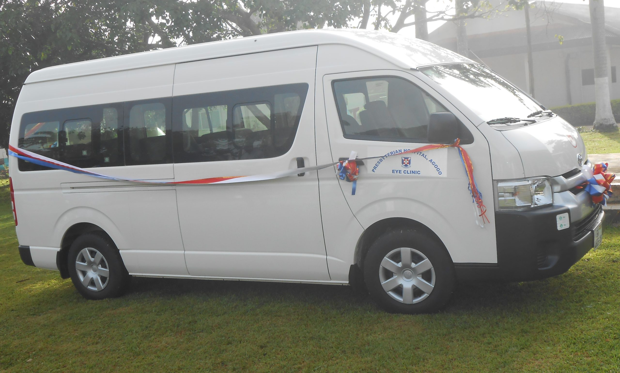 THE ACQUISITION OF BRAND NEW TOYOTA HIACE DLX