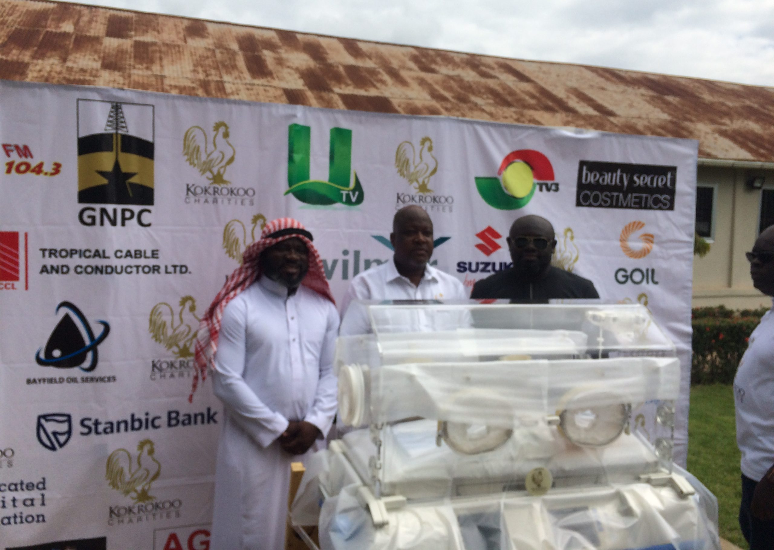 KOKROKOO CHARITIES DONATES TWO (2) INCUBATORS TO PRESBYTERIAN HOSPITAL, AGOGO